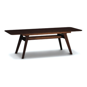 "Currant Extendable Dining Table, 72"", 92"", Black Walnut"