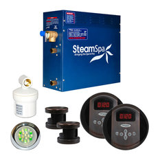 SteamSpa Royal 10.5kw Steam Generator Package in Oil Rubbed Bronze