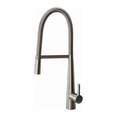 Transolid 1.8 GPM Pull-Down Kitchen Faucet, Luxe Stainless