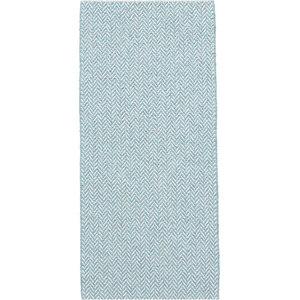 Ella Turquoise Vinyl Floor Cloth, 70x200 cm