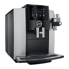 Jura S8 Chrome Automatic Espresso & Cappuccino Machine with Touch screen