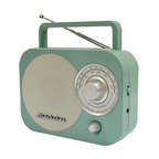 Portable AM/FM Radio, Teal