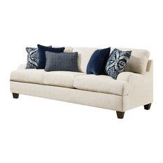 Simmons Upholstery   Simmons Upholstery Queen Sleeper Sofa, Sophia Stone   Sleeper  Sofas