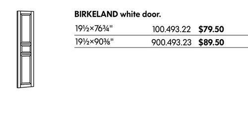 Need help finding IKEA Birkeland Pax Door