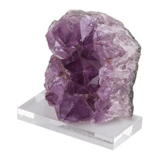 Small Amethyst Cluster, Natural Finish