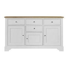 Somerdale Large Sideboard, Dove White