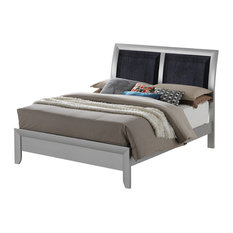 Glory Furniture - Full Bed, Black - Panel Beds