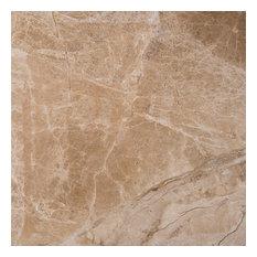 "12""x12"" Cedar Emperador Polished Marble Tile"