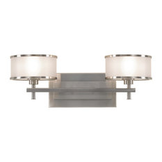 Murray Feiss Casual Luxury Two Light Vanity Fixture VS13702-BS