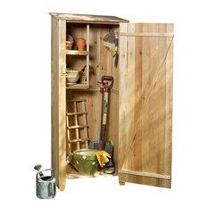Cedar Storage Hutch, Storage Shed