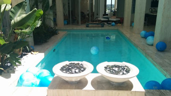 All Tile Interior Finish swimming pool renovation