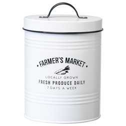Farmhouse Kitchen Canisters And Jars by Global Amici