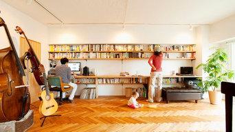 【リフォーム事例】壁いっぱいに大好きな本を飾る