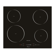 """Empava 24"""" 4 Booster Burners, Tempered Glass, Electric Induction Cooktop"""