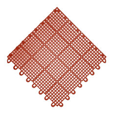 Mateflex II Tile, Terra Cotta Red