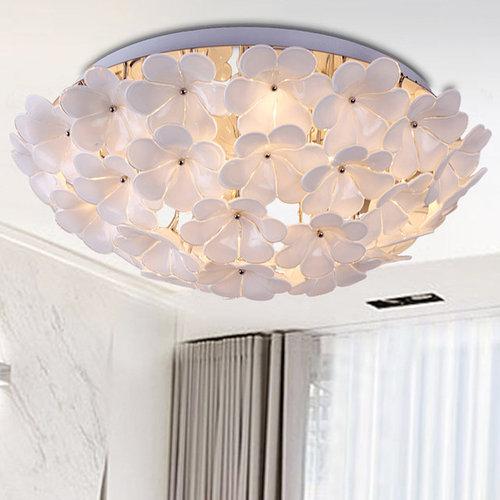 florae blossom flushmount ceiling light flushmount ceiling lighting