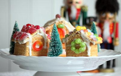 Aux fourneaux : Un délicieux village de Noël à faire en famille