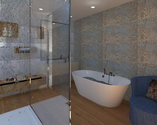 cr ation d 39 une salle de bain dans la suite parentale luxe. Black Bedroom Furniture Sets. Home Design Ideas