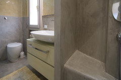 Resine per piastrelle bagno gallery of pavimenti in resina with