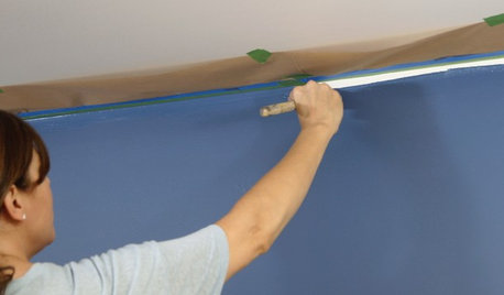 Houzz TV: How to Paint a Wall Faster