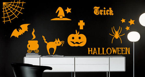 Spooky Halloween Decals   Wall Decals