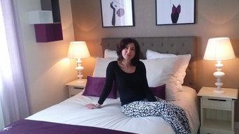 Chambre à coucher décoration APRES