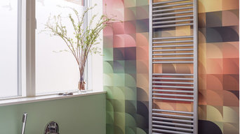 Deline towel radiator