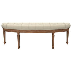 Transitional Upholstered Benches by Houzz