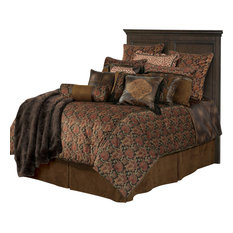 western velvet rustic comforter set king comforters and comforter sets - Oversized King Comforter