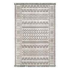 nuLOOM Cora Outdoor Vintage-Style Area Rug, Light Gray, 8'x10'
