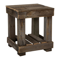 Rustic End Tables side tables and end tables | houzz