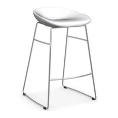Palm Counter Stool Calligaris, White