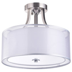 Contemporary Flush-mount Ceiling Lighting by Edvivi