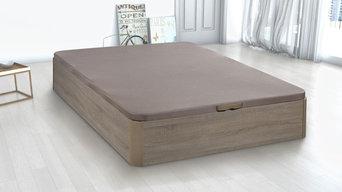 Canape de madera natural