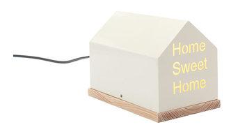 'Home Sweet Home' Iron Table Lamp, Cream