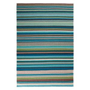 Linie Feel Rug, Denim Blue, 140x200 cm