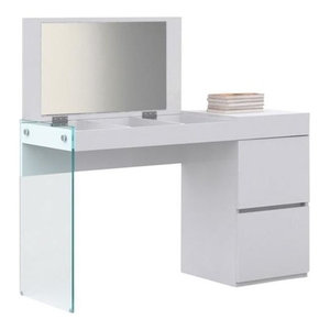 Boahaus Contemporary Vanity Set/Dressing Table With Mirror ...