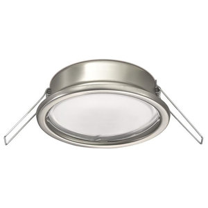 Redondela Recessed Wall Light, Chrome