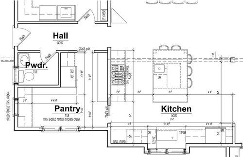 Kitchen Layout Work Triangle Help