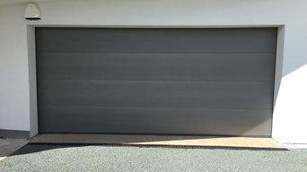 Installation of Hormann LPU sectional garage door in Chester