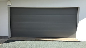 Installation of Hormann LPU sectional garage door in Chester