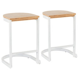 Farmhouse Bar Stools And Counter Stools by u Buy Furniture, Inc