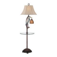 Seahaven Heron Floor Lamp, Ivory