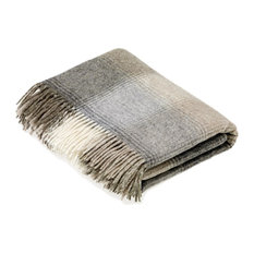 Bronte Moon - Naturally Bronte Shetland Quality Pure New Wool Natural Kilnsey Throw Blanket - Throws