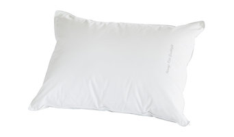 Standard Size Down Side Sleeper, Embroidered, White, Sweet Dreams