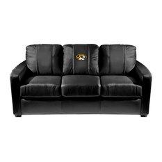 Missouri Tigers Collegiate Silver Sofa