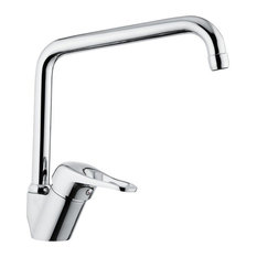 Chrome Sink Faucet With Swivel Spout