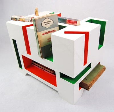 Eclectic Bookcases by Bouf