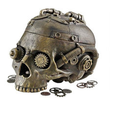 Classic Gothic Steampunk Head Statue Jewelry Treasure Box/Gift Item