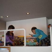 子供が喜ぶアクティビティーをマンションの部屋に作っちゃいました。